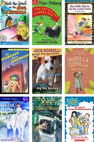 Mystery books for 3rd grade reading level