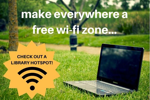 Make everywhere a free WiFi zone...