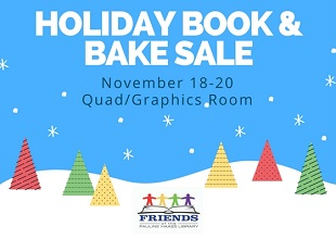 Holiday Book and Bake Sale